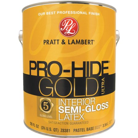 Pratt Lambert Pro Hide Gold Ultra Latex Semi Gloss Interior Wall Paint