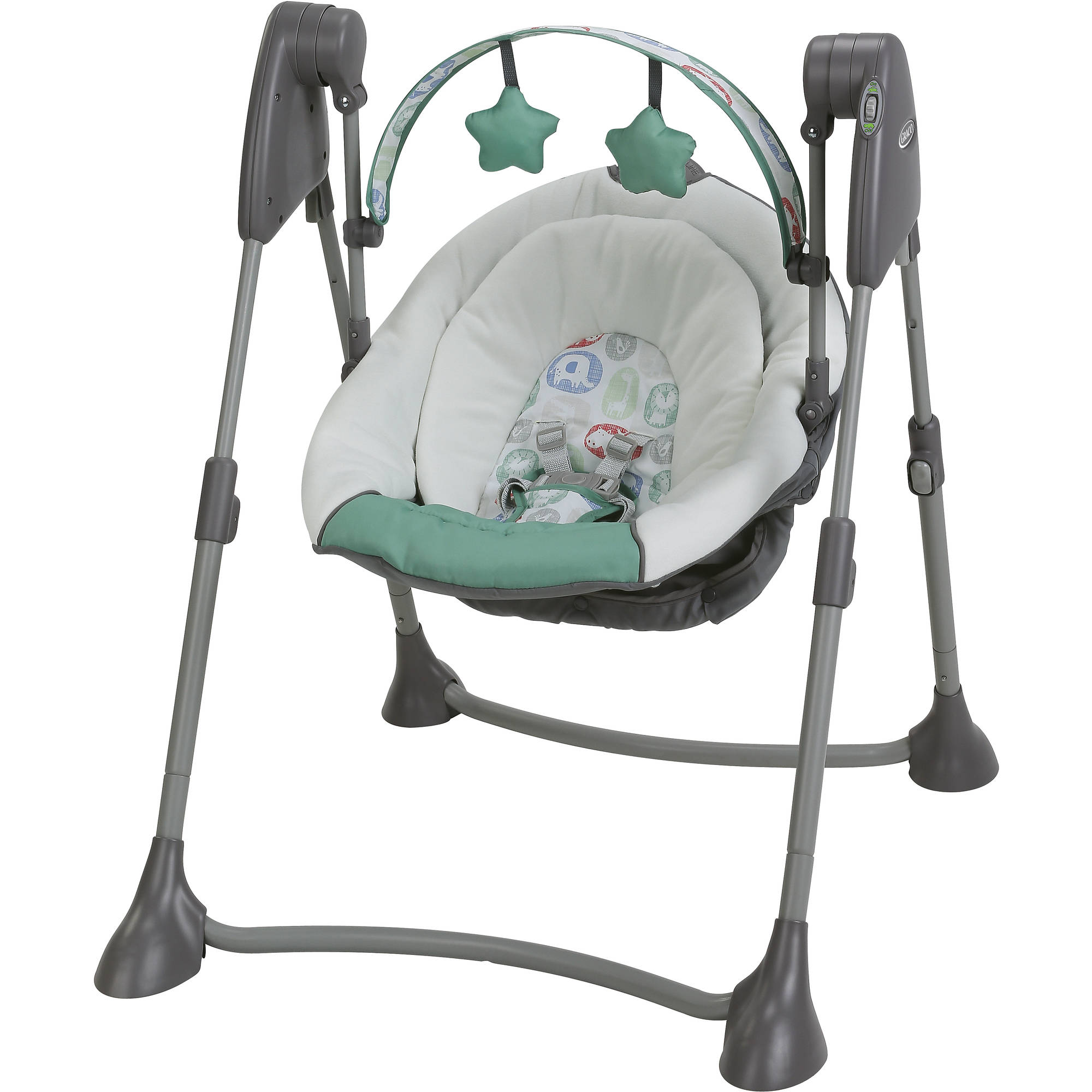 Graco Swing By Me Portable Baby Swing, Cleo