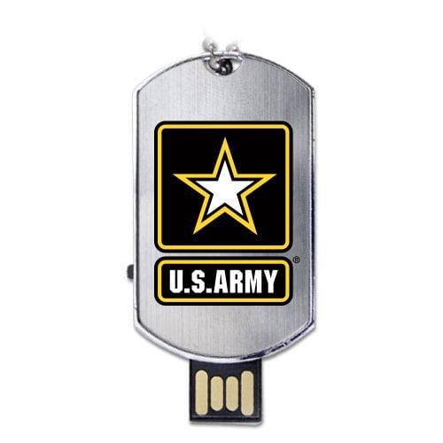 US Army Flash Tag USB Drive 4GB