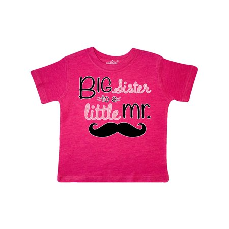 - big sister to a little mr. Toddler T-Shirt