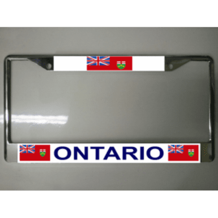 how to get temp license plate in ontario