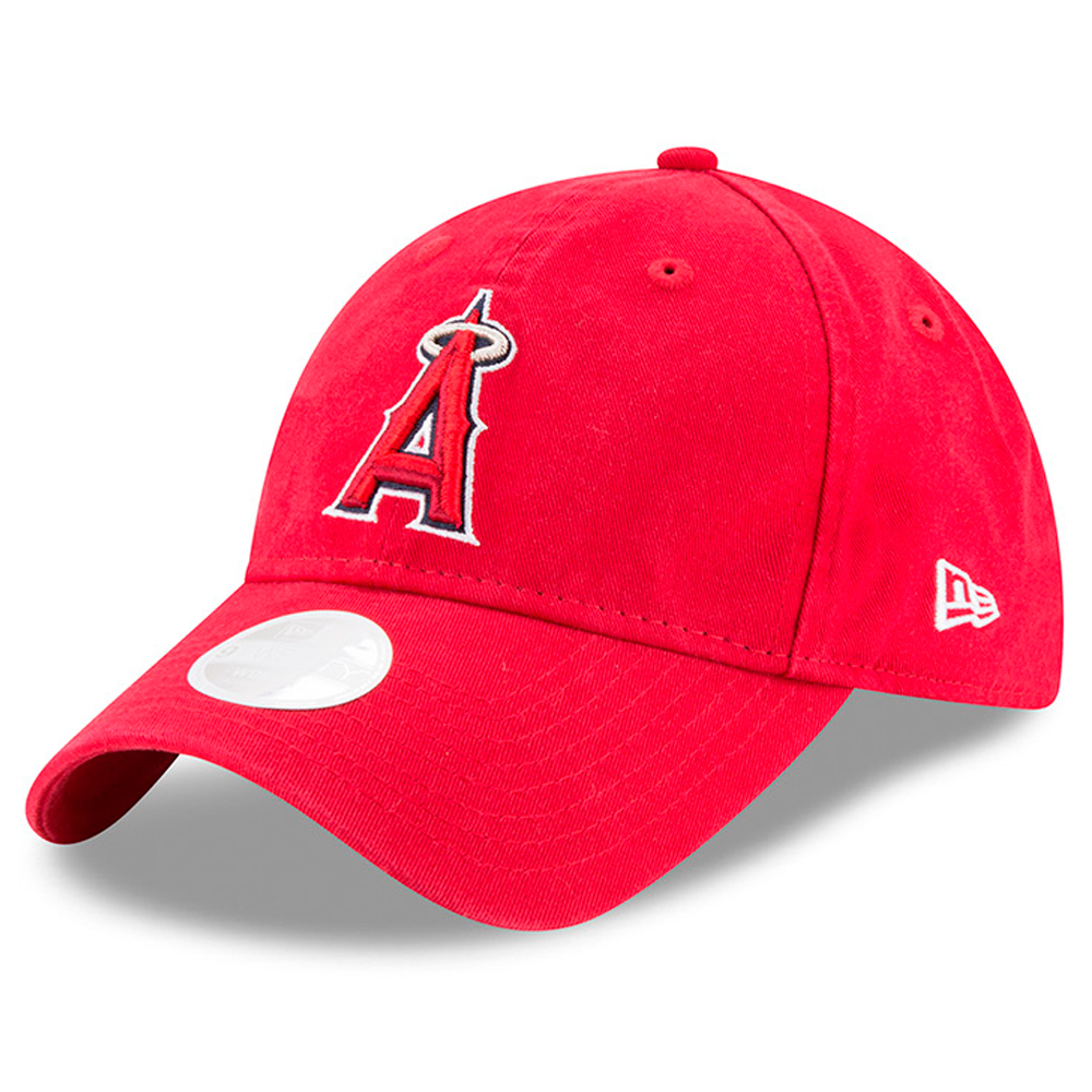 New Era Los Angeles Angels Women's Red Preferred Pick 9TWENTY Adjustable Hat - OSFA