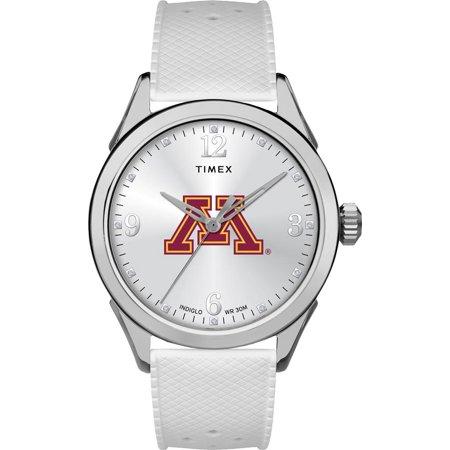 Minnesota Golden Gophers Ladies Silcone Athena Timex Watch