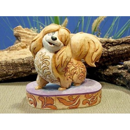 Disney Traditions Canine Collection: Lady and the Tramp 'Flirtatious Peg' Figurine by Jim Shore (Lady And The Tramp Figurine Set)