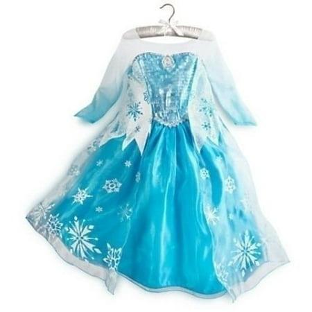 Frozen Elsa Deluxe Costume size 6 (130)](Elsa Halloween Games)