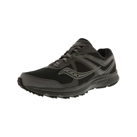 Saucony Men's Grid Cohesion Tr 11 Charcoal / Black Ankle-High Trail Runner - 14W (Saucony Grid Type)