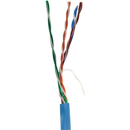 Vericom Cat5e UTP Plenum Rated CMP Cable, 1000