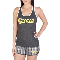 NCAA Oregon Lateral Ladies' Short/Tank Set