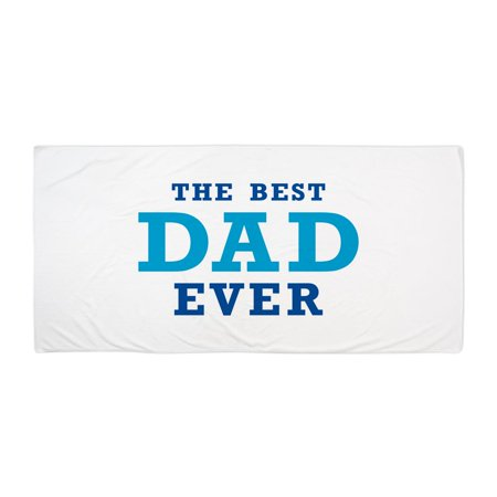 CafePress - The Best Dad Ever - Large Beach Towel, Soft 30
