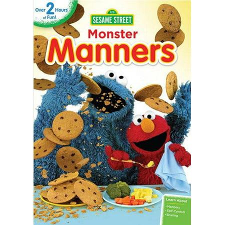 Sesame Street PBS Kids: Sesame Street: Monster Manners (Other)