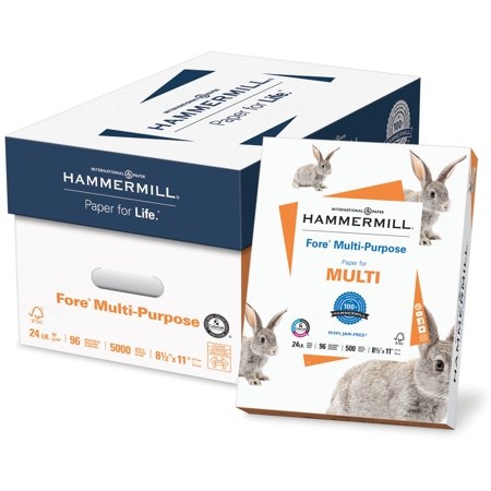Hammermill, HAM103283, Fore MP Multipurpose Paper, 5000 / Carton,