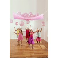 Disney Princess 'Very Important Princess' Plastic Balloon Drop Kit w/ Latex Balloons (17pc)