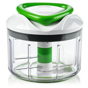 Manual Food Processor and Chopper - Easy Pull - Vegetable Slicer and Dicer - Han