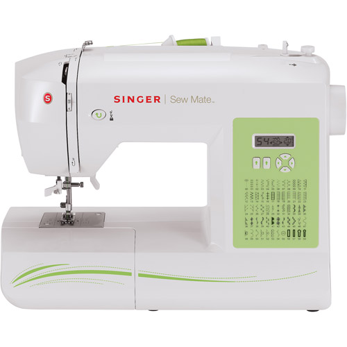 Singer Sew Mate 60-Stitch Factory-Serviced Sewing Machine, 5400