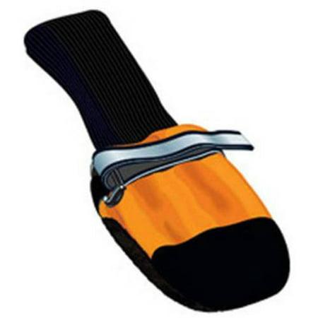 Fleece Lined Dog Boots (001128 Fleece Lined Muttluks Dog Boots, Set of 4, Orange, XXS, 1.5
