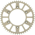 Sunstar Aluminum Works Triplestar Rear Sprocket 54 Tooth Fits 01-12 Yamaha WR250F