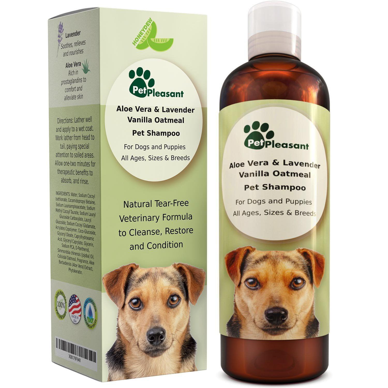 Oatmeal Dog Shampoo with Aloe Vera