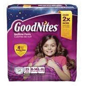 Goodnites youth pants, large/x-large girl, big pack part no. 43365 (75/case)