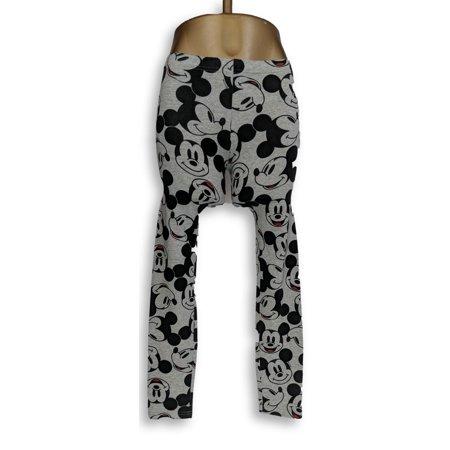 Unidentifiable Hard Goods Apparel Kids Pants Sz 13/14 Mickey Mouse Grey