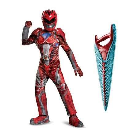 Boys Red Power Ranger Costume for $<!---->