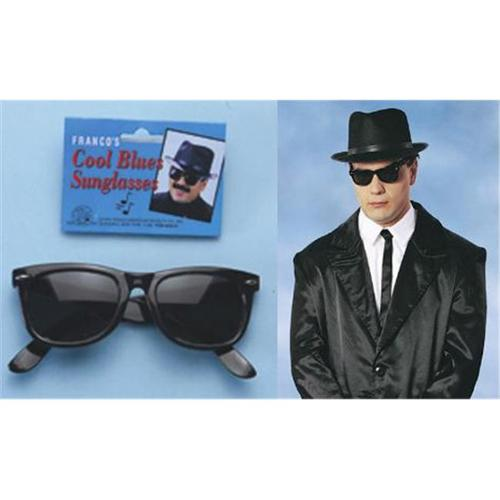Franco American Novelty 29018 Blues Brother Sunglasses