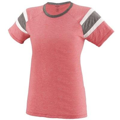 Augusta Girls Fanatic Tee Rd/Sl/Wh S - image 1 of 1