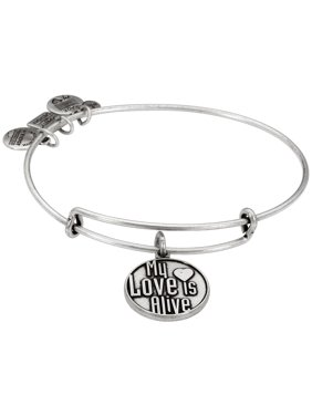 Charity Design My Love is Alive Bangle Bracelet