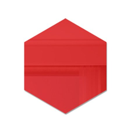 3D Hexagon Acrylic Mirror Wall Stickers DIY Art Wall Decor Stickers Home Decor - image 1 of 7
