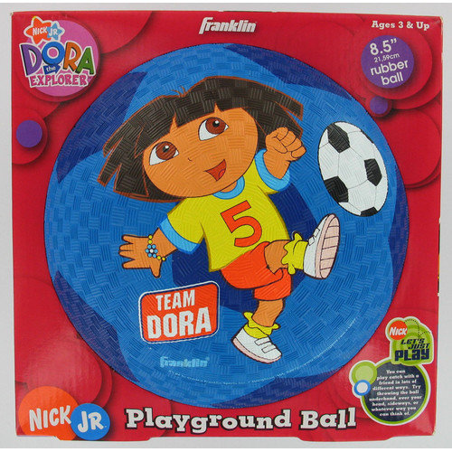 Franklin 5471 Dora the Explorer Rubber Ball