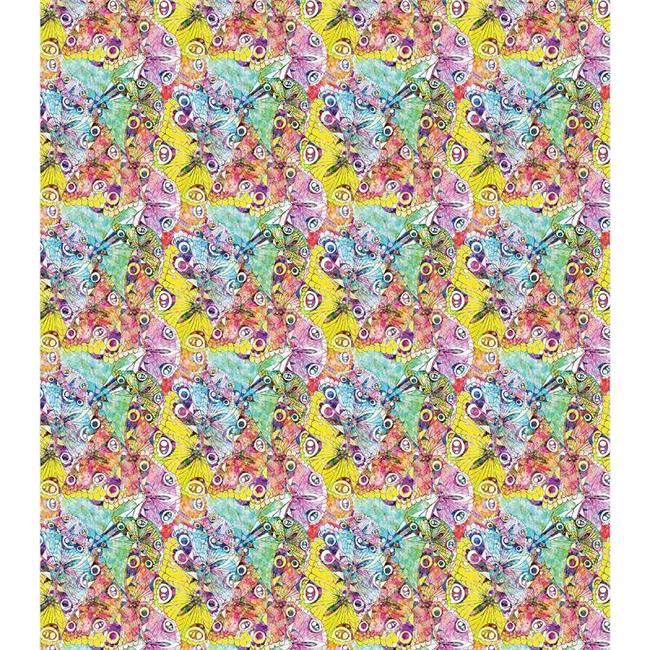 Decoupage Papers 13.75 x 15.75 in. 3 Pack - Kaleidoscope