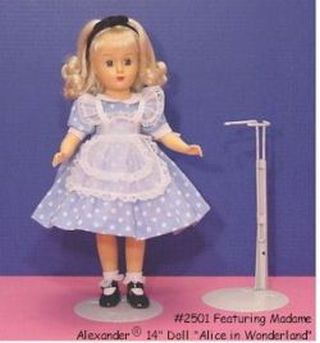 Metal Doll Stand For Dolls 12 To 20 Inches Tall