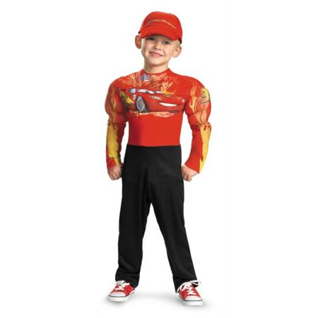 Lightning Mcqueen Muscle 7-8 - Lightening Mcqueen Costume