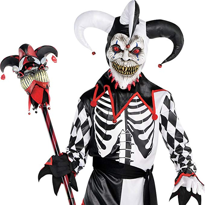 Sinister Jester Child Costume   Large   Walmart.com