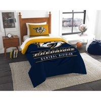 Nashville Predators The Northwest Company NHL Draft Twin Comforter Set