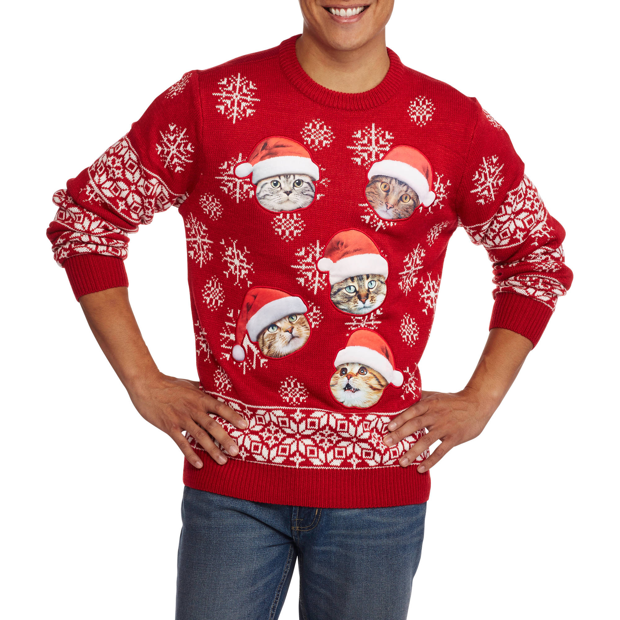 Walmart Cat Christmas Sweater 28