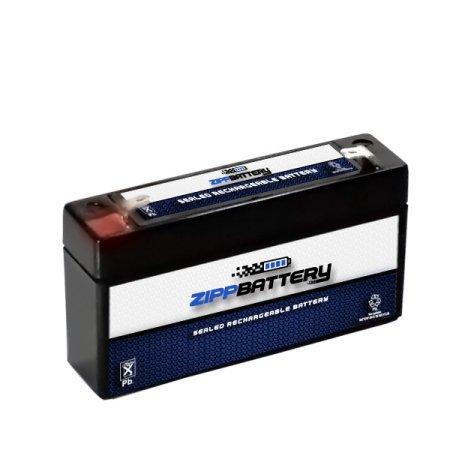 6V 1.2AH Sealed Lead Acid (SLA) Battery for POWER-SONIC PS-612 F1 ()
