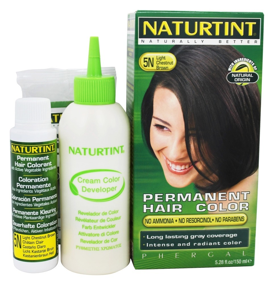 Naturtint Permanent Hair Color, Light Chestnut Brown 5N