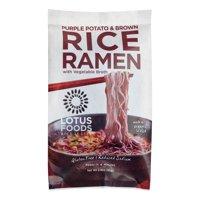 (3 Pack) Lotus Foods Purple Potato & Brown Rice Ramen, 2.8 Oz