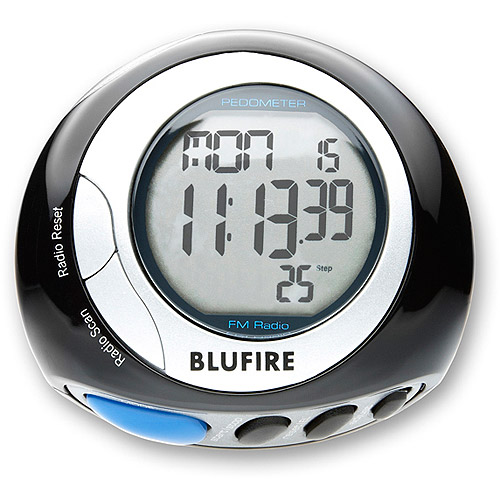 BluFire 3D Pedometer with 3D Motion Check