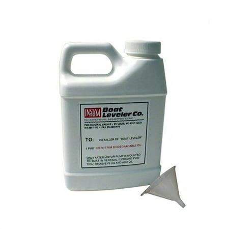 Boat Leveler Leveler Oil & Funnel Kit - Boat Leveler Oil