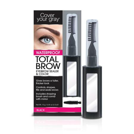 Black Eyebrow Ring - CYG Eyebrow Sealer & Color Black
