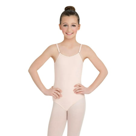 2e902afa43e74 Capezio - Camisole Leotard w  Adjustable Straps - Girls - Walmart.com