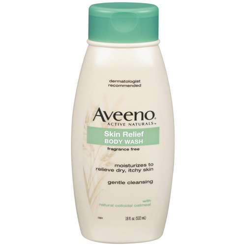 Aveeno Active Naturals Skin Relief Body Wash, 18 oz - Walmart.com
