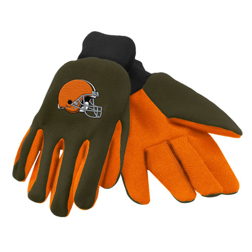 Forever Collectibles Cleveland Browns Work - Utility Gloves Work or Utility Gloves
