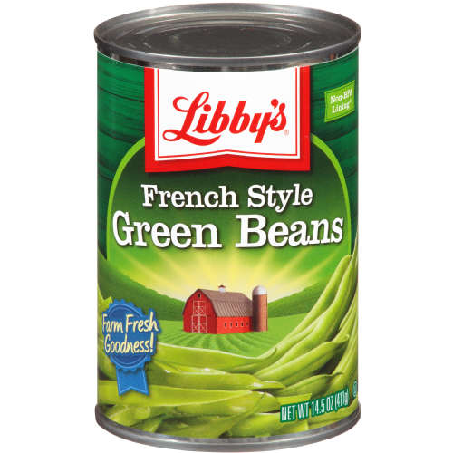 LIBBY'S GREEN BEANS FRENCH STYLE