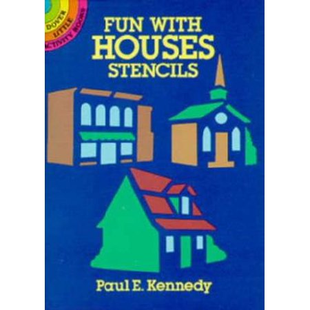 Fun Little Activities - Dover Little Activity Books: Fun with Houses Stencils (Paperback)