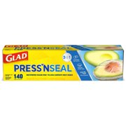 Glad Press'n Seal Food Plastic Wrap - 140 Square Foot Roll