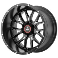"Asanti Off Road AB807 Carbine 17x9 8x6.5"" -12mm Black/Milled Wheel Rim 17"" Inch"