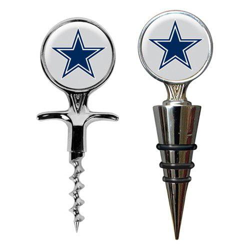 Great American NFL Cork Screw and Wine Bottle Topper Set