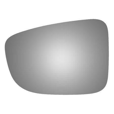 Burco 4522 Driver Side Power Replacement Mirror Glass for Mazda 3, 6